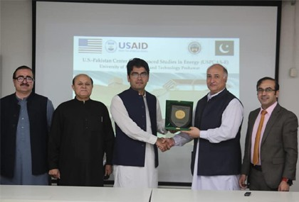 Honorable Minister ST&IT Visited U.S.-Pakistan Center